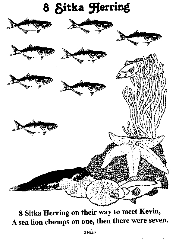 herring coloring pages - photo#18
