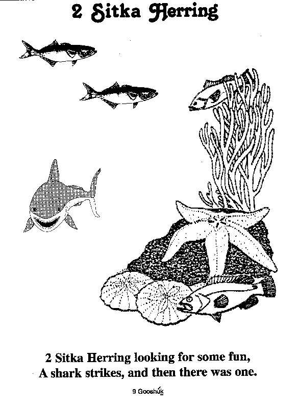 herring coloring pages - photo#40