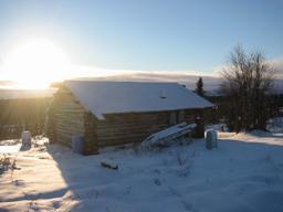 Tarpaper Cabin Roof Village Math